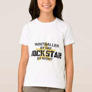 Paintballer Rock Star by Night T-shirt