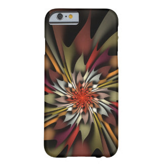Paintbox Colored Leaves Abstract Autumn Barely There iPhone 6 Case
