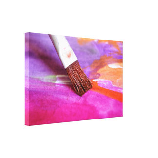 Paintbrush Gallery Wrapped Canvas