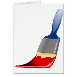 Paintbrush Greeting Cards