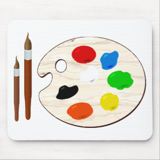 Paintbrush Mouse Pad