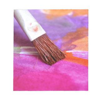 Paintbrush Notepad