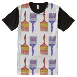 paintbrush painting t-shirt