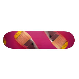 Paintbrush Photo 18.1 Cm Old School Skateboard Deck