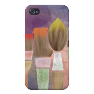 Paintbrushes iPhone 4/4S Covers