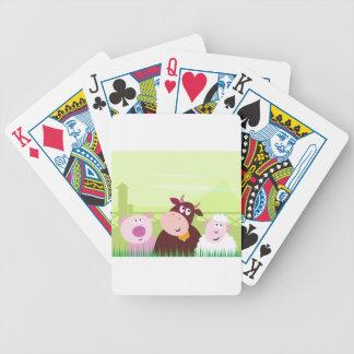 Painted amazing Animals : Creative t-shirts Poker Deck