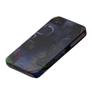 Painted Bat Symbol iPhone 4 Case-Mate Cases