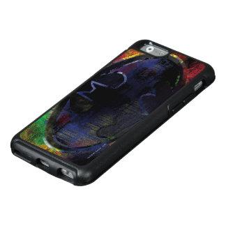 Painted Bat Symbol OtterBox iPhone 6/6s Case