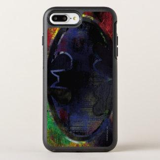 Painted Bat Symbol OtterBox Symmetry iPhone 7 Plus Case