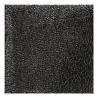 Painted black gems photo print