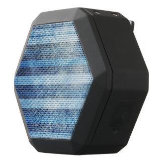 Painted Blue Stripes Design Black Boombot Rex Bluetooth Speaker
