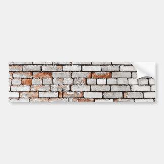 Painted Brick Bumper Sticker