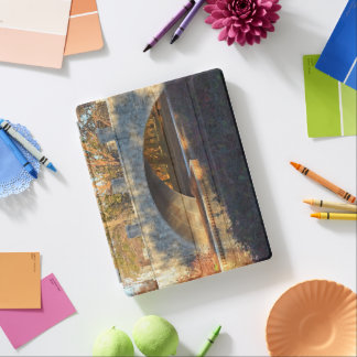 Painted Bridge At Sunset by Shirley Taylor iPad Cover