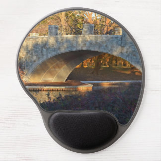 Painted Bridge at Sunset Gel Mouse Pads