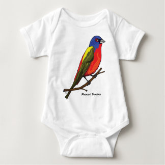 PAINTED BUNTING BABY BODYSUIT