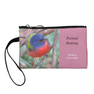 Painted Bunting Coin Purse