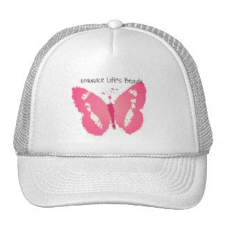 Painted Butterfly Beauty Trucker Hats