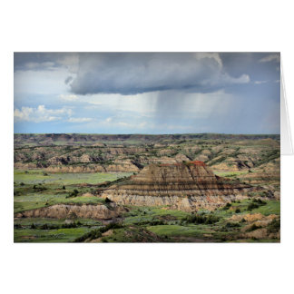 Painted Canyon in the Badlands of North Dakota Card