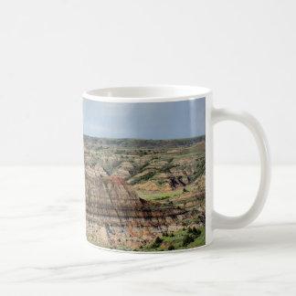 Painted Canyon in the Badlands of North Dakota Coffee Mug