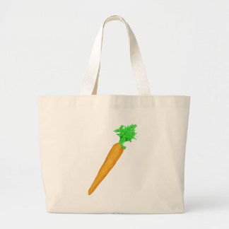 Painted Carrot Jumbo Tote Bag