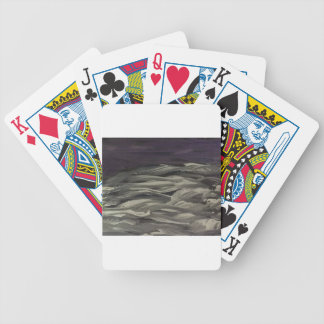 painted clouds bicycle playing cards