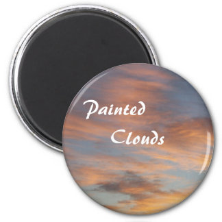 Painted Clouds Magnet