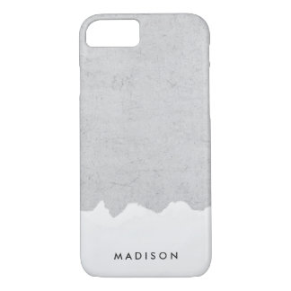 Painted Concrete | Personalized iPhone 7 Case