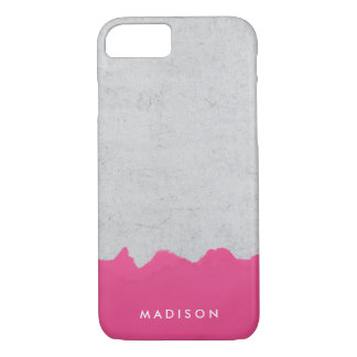 Painted Concrete | Personalized iPhone 8/7 Case