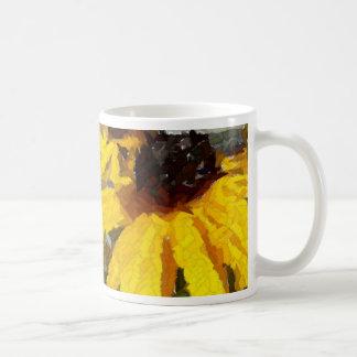 Painted Daisy Mug