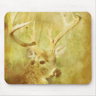 Painted Deer Mouse Pad
