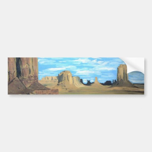 Painted Desert Bumper Stickers