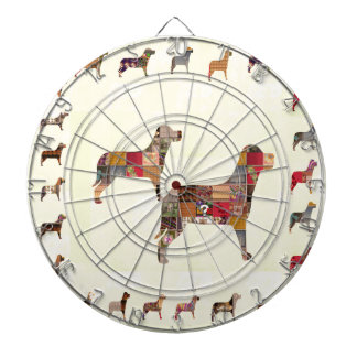 Painted DOGS Gifts Pet KIDS Festival Xmas Diwali Dartboards