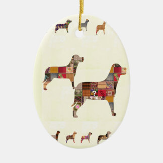Painted DOGS Gifts Pet KIDS Festival Xmas Diwali Ornaments