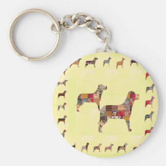 Painted DOGS Gifts Pet KIDS Festival Xmas Diwali Key Chain