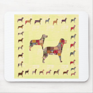 Painted DOGS Gifts Pet KIDS Festival Xmas Diwali Mousepad