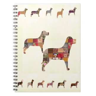 Painted DOGS Gifts Pet KIDS Festival Xmas Diwali Note Book