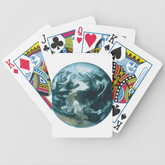 Painted Earth Bicycle Playing Cards