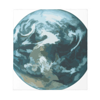 Painted Earth Notepad