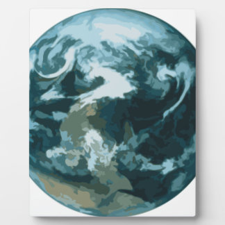 Painted Earth Plaque