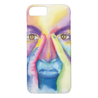 Painted face iPhone 8/7 case