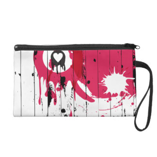 Painted Fence Wristlets