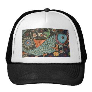Painted Fish Hats