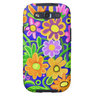 Painted Floral Galaxy S3 Case