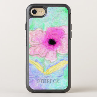 Painted Floral Pretty OtterBox Symmetry iPhone 8/7 Case