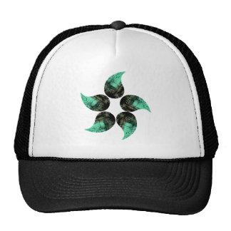 Painted Flower Cap