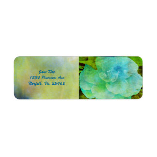 Painted Flower Labels