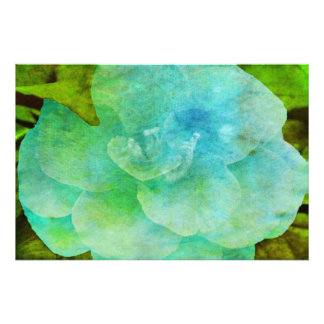 Painted Flower Photographic Print