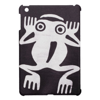 Painted Frog Caricature iPad Mini Case