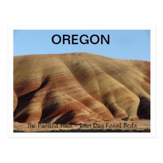 Painted Hills Postcard