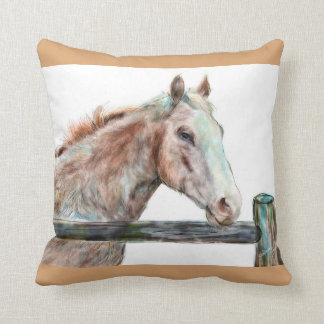 Painted Horse Pillow